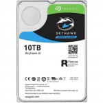 Seagate SkyHawk 10TB SATA3 HDD, 256MB Buffer, Durable reliability and performance tuned to the high-write workloads of today 24 Hours & 7 days video surveillance systems (5 years warranty)
