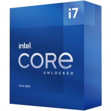 Intel Rocket Lake Core i7-11700K CPU 8 Core / 16 Thread, Max Turbo 5.0GHz, Base Clock 3.6GHz, 16MB, LGA 1200 Intel 500 Series Motherboard Required