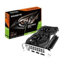 GIGABYTE GEFORCE GTX1650 OC 4G DDR5, GPU UPTO 1710 MHZ, 2X 80MM BLADE FAN, 2 SLOT, DP+ 2X HDMI, 191MM LENGTH MAX 3 DISPLAY
