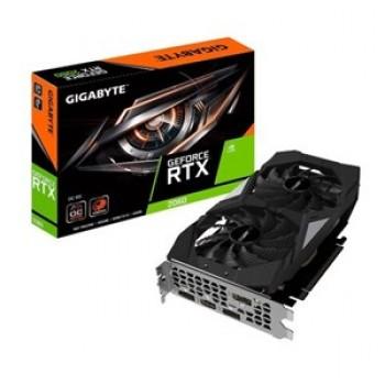 GIGABYTE GEFORCE RTX2060 OC, VIDEO GRAPHICS CARD, UHD 8K (7680X4320), 6GB GDDR6, VR READY, G-SYNC, 1XHDMI, 3XDISPLAYPORT