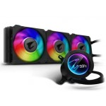 Gigabyte Aorus LIQUID COOLER 360 with 60x60mm circular full color LCD Display ,RGB Fusion 2.0, Triple 120mm ARGB Fans CPU Socket Support: Intel 2066, 2011-3,1366,115x ,AMD TR4, AM4