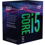 Intel Core i5 8600K 3.6GHz Socket 1151 Box without Cooler