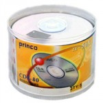 Princo PRINCO 2- 56x CDR 50x PACK SPINDLE WHITE INKJET PRINTABLE 700MB 80min Genuine A Grade CDR-80
