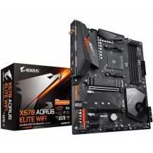 Gigabyte X570 AORUS ELITE WIFI ATX For AMD Ryzen 2nd/3rd Gen CPU,AM4, X570, 4XDDR4 DIMM, 2XM.2, 2XPCIE X16, 2XPCIE X1, 10XUSB, LAN, HDMI