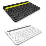 Logitech K480 Bluetooth Tablet Keyboard Black/White
