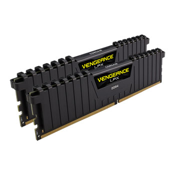 Corsair Vengeance LPX Black DDR4 PC19200/2400MHz CL14 2x8GB (CMK16GX4M2D2400C14)