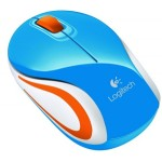 Logitech M187 USB Wireless Mini Mouse - Blue