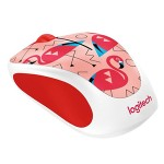 Logitech M238 Wireless Mouse Flamingo