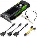 Leadtek Quadro P6000 4xDP 24GB
