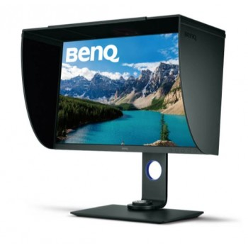 BENQ SW271 27 INCH 4K(3840X2160) 99% ADOBE RGB,100%SRGB,100%REC709,DCI-P3 COLOR MANAGEMENT PHOTOGRAPHER MONITOR