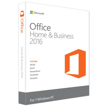 Microsoft Office Home & Business 2016 Eng DISCLESS T5D-02877