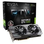 EVGA GeForce GTX 1080 FTW DT Gaming ACX 3.0 HDMI 3xDP 8GB 08G-P4-6284-KR