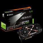 Gigabyte Aorus GeForce GTX 1080 HDMI 3xDP 8GB GV-N1080AORUS-8GD