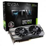 EVGA GeForce GTX 1070 FTW Gaming ACX 3.0 HDMI 3xDP 8GB