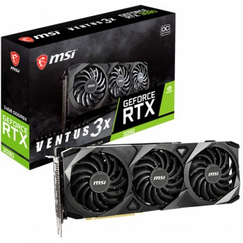 MSI GeForce RTX 3090 VENTUS 3X OC 24G Graphics Card  (weekend special, one unit only, First in first serve).