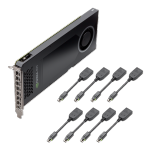 Leadtek Quadro NVS 810 8xDP 4GB