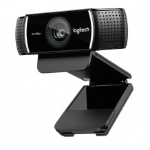 Logitech C922 HD PRO STREAM WEBCAM Background Replacement + Tripod