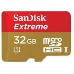 SanDisk Extreme microSDHC Class 10 UHS-I Class 3 60/40MB/s 32GB SDSDQXL-032G-Q46A
