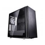Fractal Design Define C TG, Black, Tempered Glass