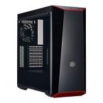 Cooler Master MasterBox Lite 5  Black/Red/Transparent