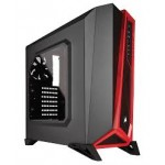 CORSAIR CARBIDE SERIES SPEC-ALPHA MID-TOWER GAMING CASE -BLACK & RED