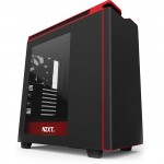 NZXT H440 MID TOWER CASE 2015 EDITION - BLACK/RED (CA-H442W-M1)