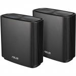 ASUS ZenWiFi CT8 Mesh Wi-Fi System - 2 Pack, MU-MIMO, Tri-Band AC3000, 4 x Gigabit Ethernet Port