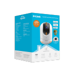 D-Link DCS-8526LH Smart Wi-Fi Camera, 1080p, 114° Viewing Angle, 340° Pan & 110° Tilt, Night Vision, Motion and sound detection, Local recording with MicroSD