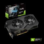 ASUS Dual GeForceR GTX 1660 Ti OC edition 6GB GDDR6 EVO