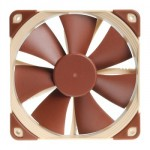 Noctua NF-F12 PWM 120mm 4-Pin PWM Fan, 1500/1200RPM