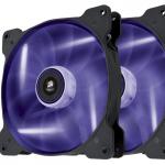 Corsair Air Series SP140 High Static Pressure 140mm LED Purple TwinPack