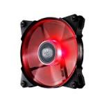 CoolerMaster JetFlo 120 Red LED Fan ultra-thin