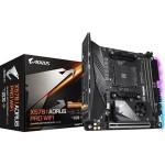 Gigabyte X570I Aorus Pro Wifi ITX For AMD Ryzen 2nd/3rd Gen CPU,AM4, X570, 2XDDR4 DIMM, 1XPCIE X16, 5XUSB, 1XType C, 2XHDMI/ DP, LAN, AC Wifi+BT