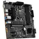MSI B560M PRO-VDH Desktop Motherboard - Intel Chipset - Socket LGA-1200 - Intel Optane Memory Ready - Micro ATX - Core i3, Core i5, Core i7, Core i9, Celeron, Pentium Gold Processor Supported - 128 GB DDR4 SDRAM