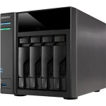 Asustor AS6104T 4 Bay Intel Celeron 1.6GHz Dual Core 2GB NAS