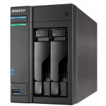 Asustor AS6202T 2 Bay Celeron 1.6GHz Quad Core 4GB NAS