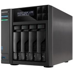 Asustor AS6204T 4 Bay Celeron 1.6GHz Quad Core 4GB NAS