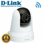D-Link DCS-5020L InDoor Cloud IP Camera, Pan/Tilt, Wireless-N, 640x480 30fps, Microphone, NightView, Range Extender