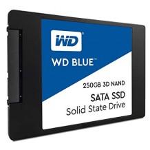 """WD Blue 3D NAND SSD 2.5"""" SATA III 250GB"""