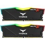 TEAM T-FORCE DELTA RGB 16GB (2x8GB) 3200MHz CL16 DDR4 BLACK