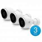 Ubiquiti UniFi VIDEO UVC-G3-BULLET-3 Outdoor 1080p Bullet PoE IP Camera, 3 Pack