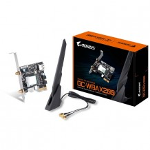 Gigabyte Aorus GC-WBAX200 MU-MIMO Dual-Band AX2400 + Bluetooth5.0 PCI-E Wireless Adapter, Low Profile Bracket Included
