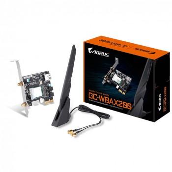 Gigabyte Aorus GC-WBAX200 MU-MIMO Dual-Band AX2400 + Bluetooth5.0 PCI-E Wireless Adapter