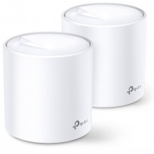 TP-Link Deco X60 Wi-Fi 6 Whole-Home Mesh System - 2 Pack, MU-MIMO, Dual-Band AX3000, Parental Controls, Antivirus, QOS.   (Bonus a TAPO C200 Smart Camera from 01/12/2020 to 31/01/2021. Redeem from TP-Link)